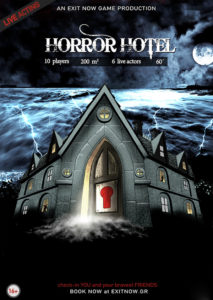 exit now horror hotel   EXIT NOW   Live Game Experience   Escape Room   Services