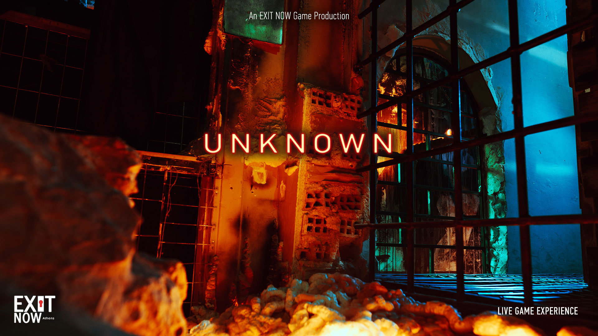 UKNOWN MAIN | EXIT NOW | Live Game Experience | Escape Room | Services