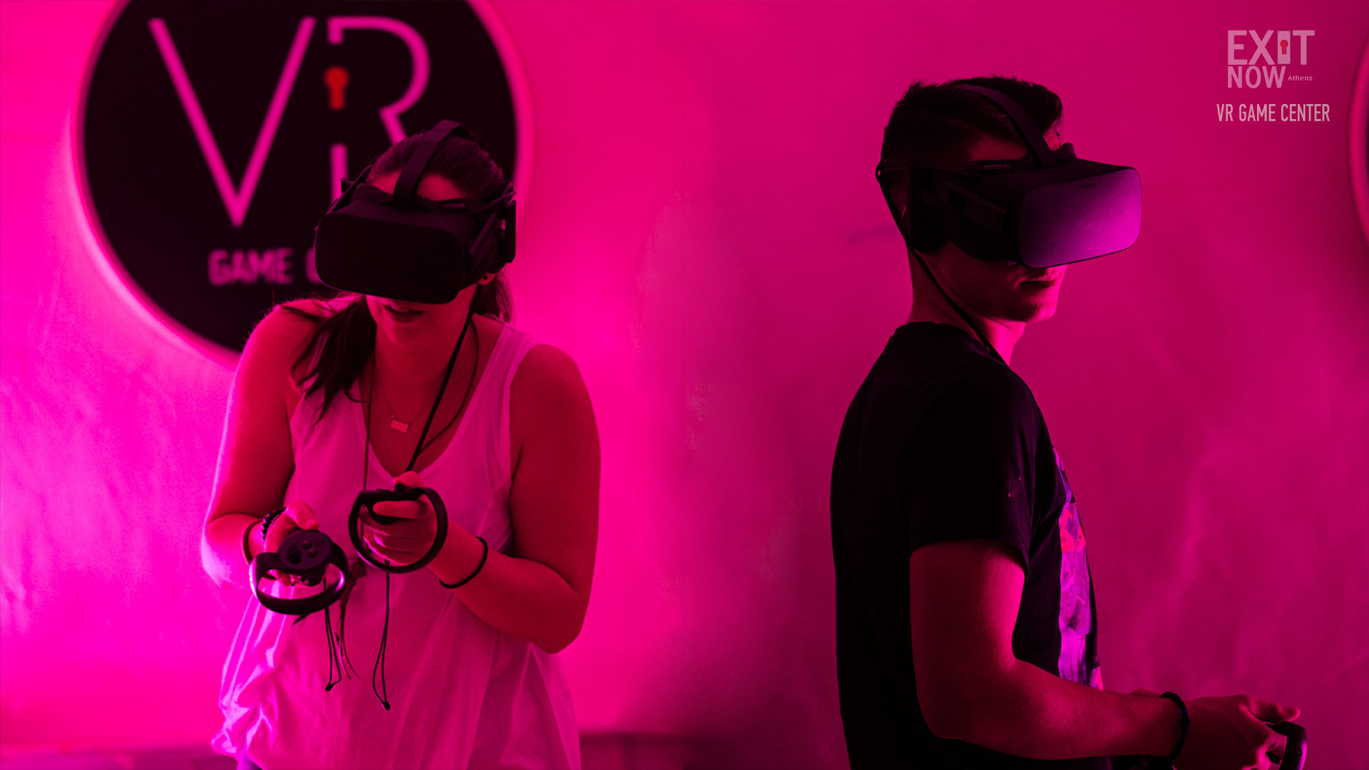 VR GAME CENTER EXIT NOW 1 | EXIT NOW | Live Game Experience | Escape Room | Services