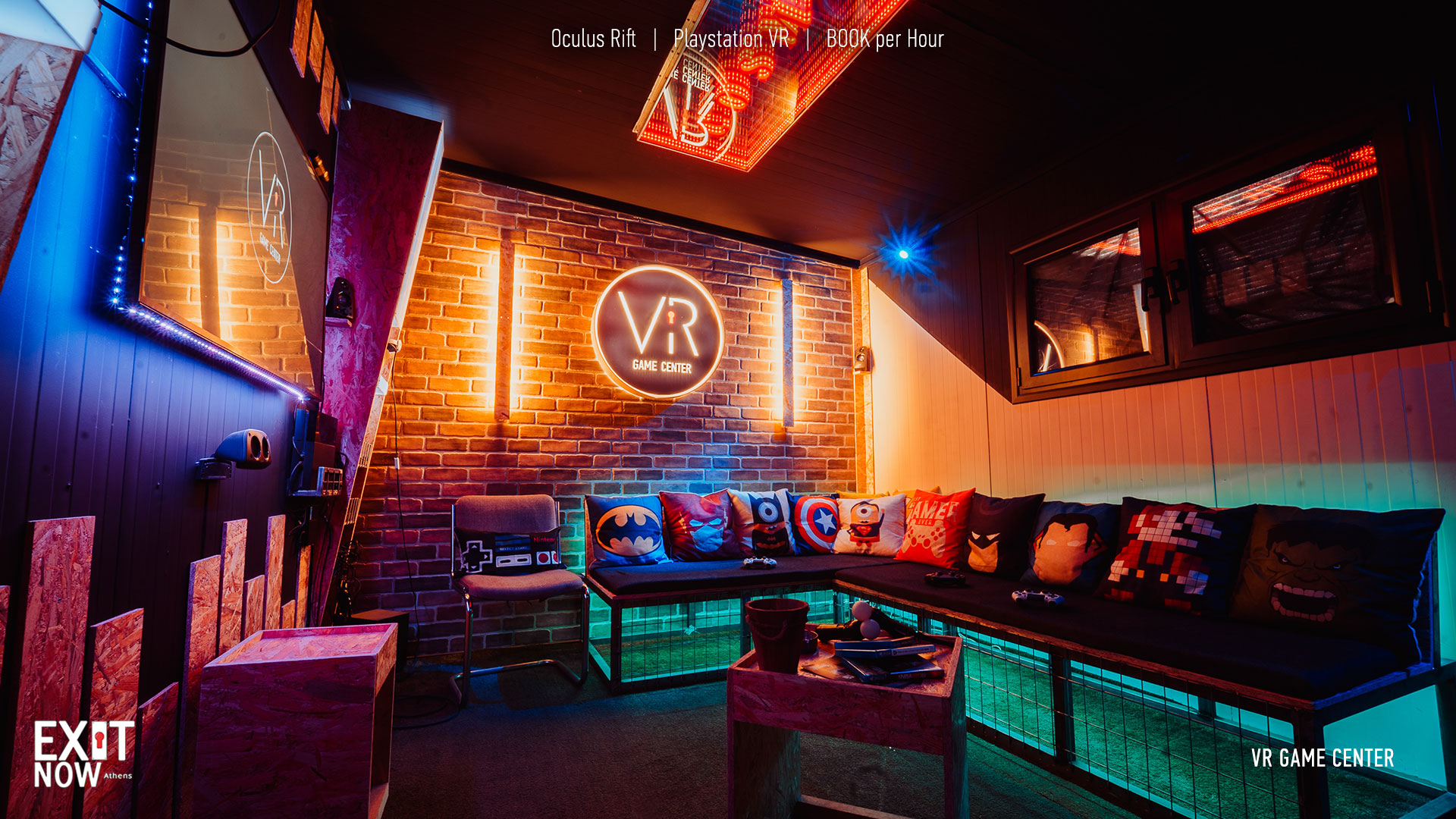 VR Main 1 | EXIT NOW | Live Game Experience | Escape Room | Services