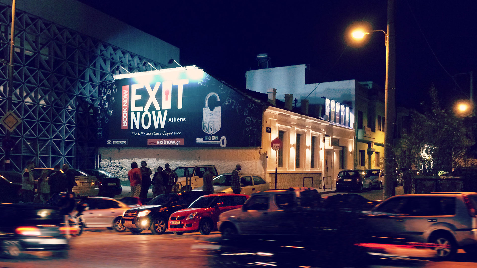 EXITNOW Iakxou5 Athens | EXIT NOW | Live Game Experience | Escape Room | Services