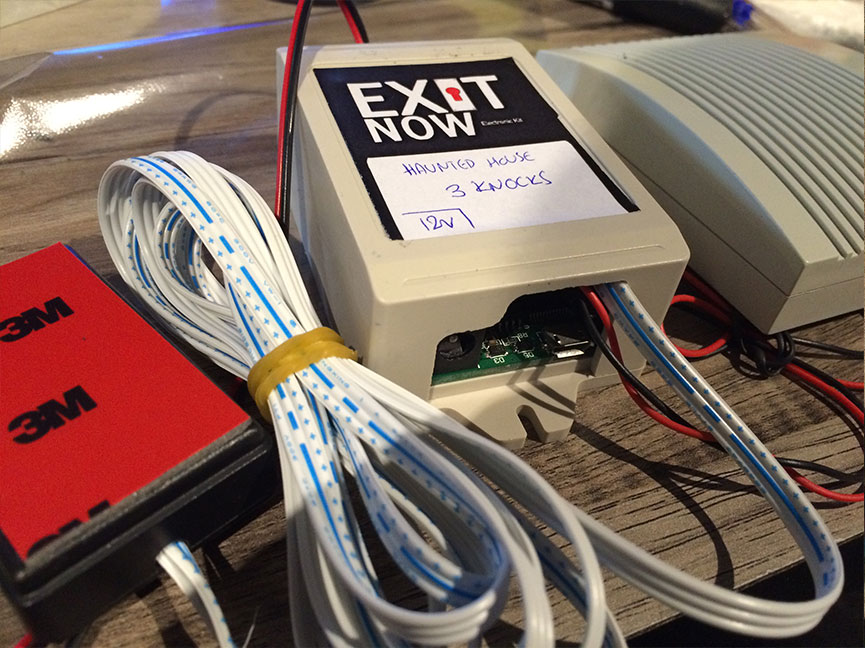 EXITNOW Props Knocks | EXIT NOW | Live Game Experience | Escape Room | Services