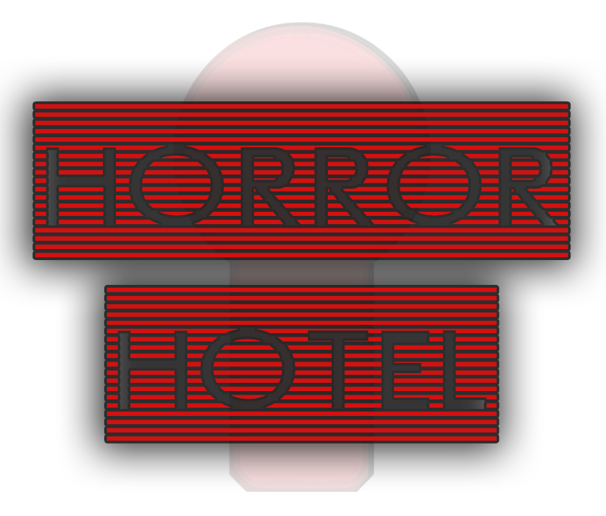 HORROR HOTEL The Experiment LOGO 1 | EXIT NOW | Live Game Experience | Escape Room | Services