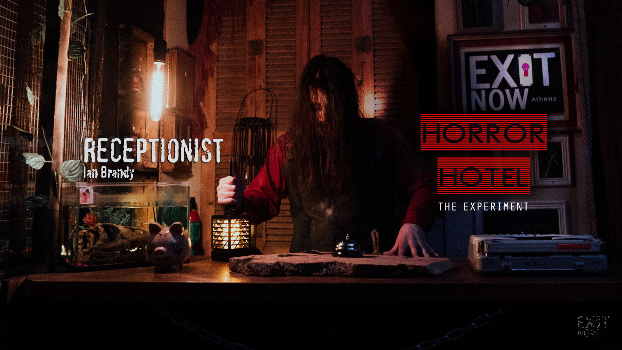 The Receptionist | HORROR HOTEL