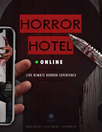 HORRORHOTEL Online Game | EXIT NOW | Live Game Experience | Escape Room | Services