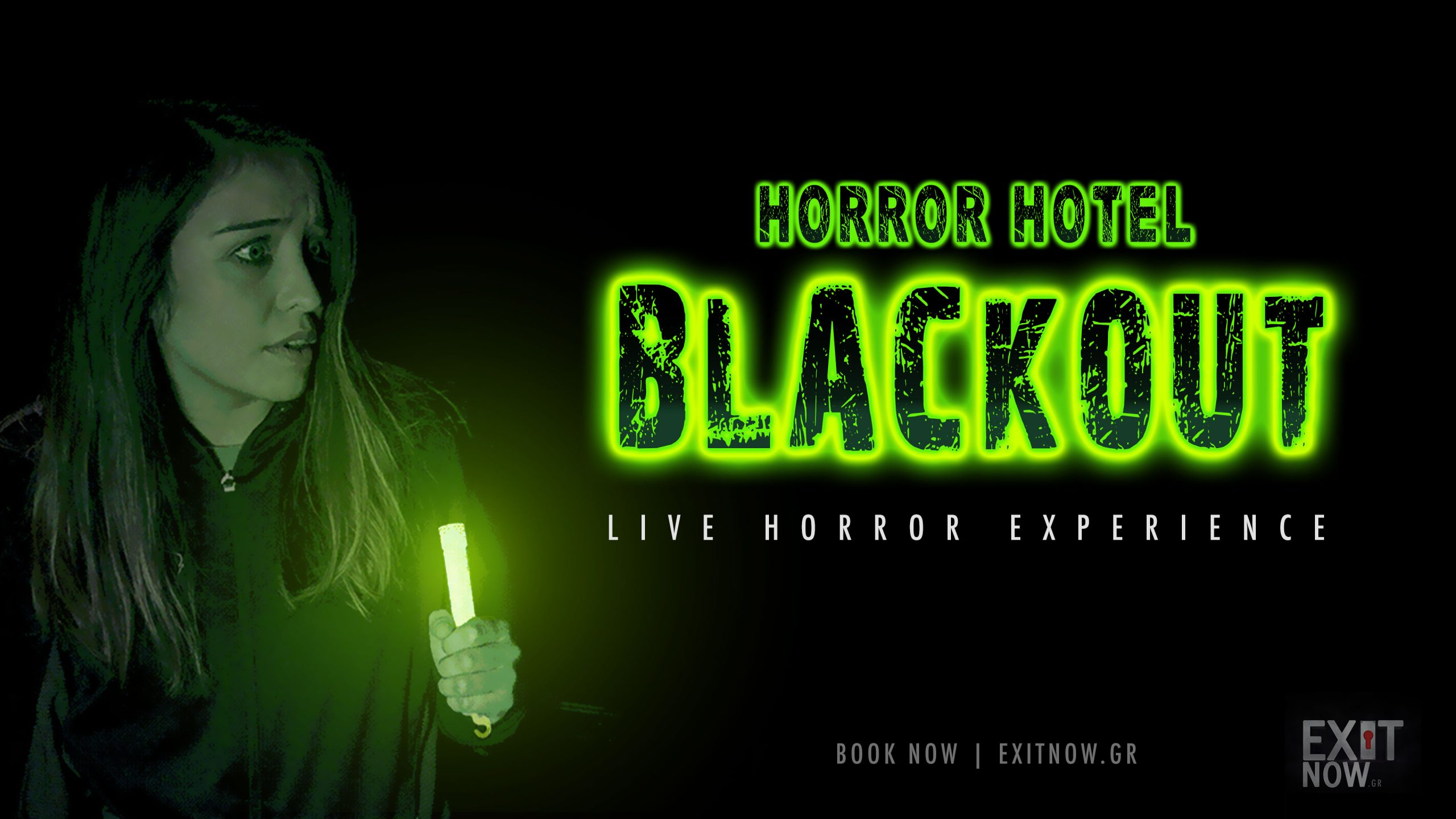 EXITNOW HORRORHOTEL BLACKOUT scaled | EXIT NOW | Live Game Experience | Escape Room | Services